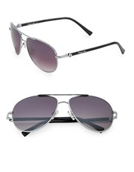 Sam Edelman 57Mm Aviator Sunglasses Grey