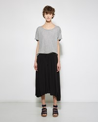 Raquel Allegra Shirred Skirt