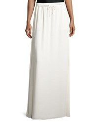 Elizabeth And James Ember Drawstring Maxi Skirt Ivory