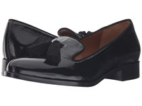 Aquatalia By Marvin K Yara Black Metallic Naplak Women's Shoes