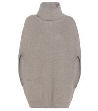 Loro Piana Halifax Cashmere Turtleneck Sweater Grey