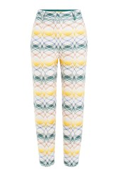 Missoni Jacquard Ankle Length Pants Multicolor