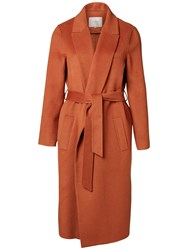 Selected Femme Oby Wool Blend Coat Mocca Bisque