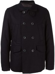 Herno Padded Peacoat Blue