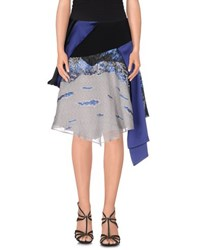 Prabal Gurung Skirts Knee Length Skirts Women Blue