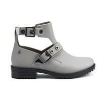 Melissa Women's Antares Cut Out Ankle Boots Dove Grey