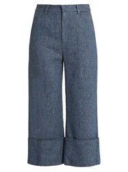 Sea Linen Blend Denim Trousers