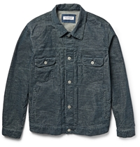 Ron Herman Cotton Corduroy Jacket Blue