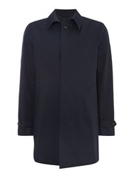 United Colors Of Benetton Men's Trench Button Through Coat Navy