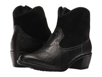 Munro American Laramie Black Leather Suede Cowboy Boots