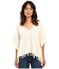 Billabong Weekend Escape Poncho Cool Wip Women's Sweater Bone