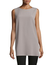 Michael Kors Round Neck Long Tank Bison