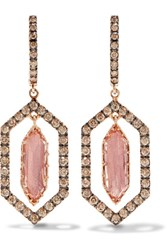 Larkspur And Hawk Caprice Floating 14 Karat Rose Gold