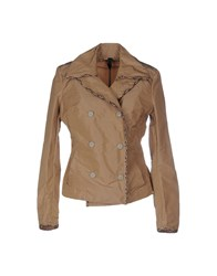 Aquarama Suits And Jackets Blazers Women Camel