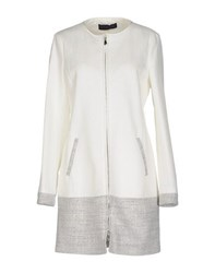 Tru Trussardi Coats And Jackets Full Length Jackets Women White