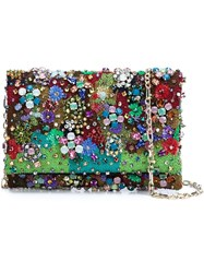Oscar De La Renta Embellished Clutch Bag Multicolour