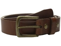 Will Leather Goods 34Mm Luxe Belt W Snap Closure Tan Belts