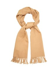 A.P.C. Wool And Cashmere Blend Scarf Beige