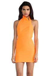 Aq Aq Hannah Mini Dress Orange