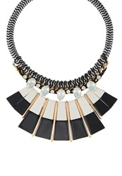 Sweet Deluxe Birklind Necklace Goldcoloured Black