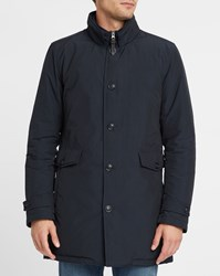 Woolrich Navy Turner Goose Down Lining Parka Blue