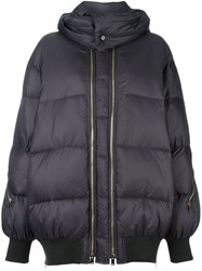 Stella Mccartney Padded Oversize Coat Grey