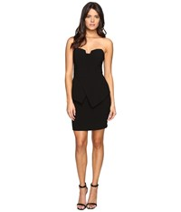 Adelyn Rae Tube Dress W Peplum Black Women's Dress