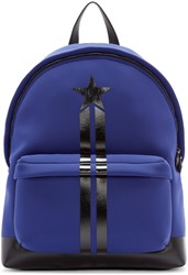Givenchy Blue Neoprene Backpack