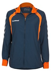 Hummel Team Player Tracksuit Top Blau Dark Blue