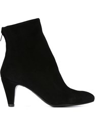 The Last Conspiracy Pointed Toe Booties Black