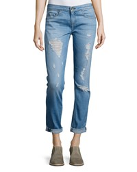 Rag And Bone Rag And Bone Jean Dre Distressed Cuffed Jeans Rosslyn Size 31