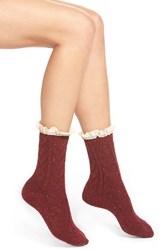 Women's Free People 'Highlands' Speckled Boot Socks