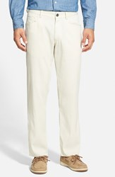Men's Big And Tall Tommy Bahama 'Collins' Straight Leg Pants Spray Brown