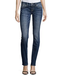 Miss Me Embroidered Boot Cut Jeans Dk 287