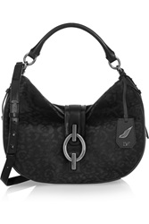 Diane Von Furstenberg Sutra Hobo Leather And Calf Hair Shoulder Bag