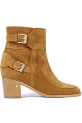 Laurence Dacade Babacar Suede Ankle Boots Camel
