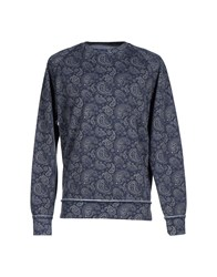 Rare Ra Re Topwear Sweatshirts Men Slate Blue