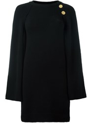 Vanessa Bruno Cape Dress Black