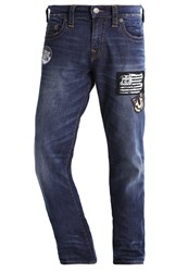 True Religion Geno Relaxed Fit Jeans Blue Denim