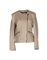 Twenty Easy By Kaos Coats And Jackets Jackets Women Sand