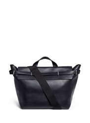 3.1 Phillip Lim 'Honor' Top Handle Leather Bag Black