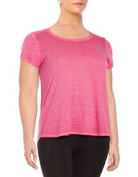 Marc New York Quilted Knit Tee Watermelon
