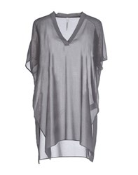 Pierantonio Gaspari Shirts Blouses Women Grey