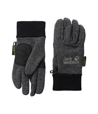 Jack Wolfskin Knitted Stormlock Glove Phantom Extreme Cold Weather Gloves Gray