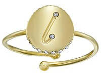Kate Spade Forever Mine L Ring Clear Gold Ring