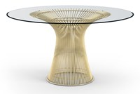 Knoll Platner Gold Dining Table