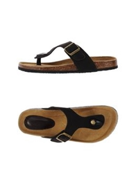 Lumberjack Thong Sandals Dark Blue
