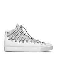 Myswear 'Redchurch' Hi Top Sneakers White