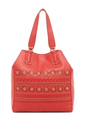 Isabella Fiore Morocco Large Tote Red
