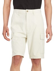 Levi's Textured Cotton Cargo Shorts Grey